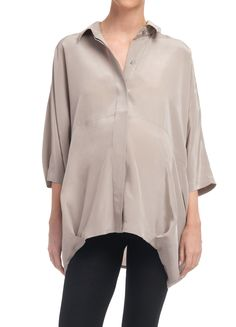 button down blouse - would be adorable as a maternity top