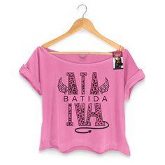 T-shirt Premium Feminina Anitta Na Batida #AnittaShop #NaBatida #bandUPStore