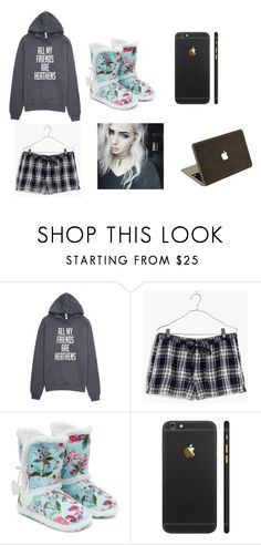 """""""-shuffles back to my dorm with a cold wanting to be taken care of- ~Annie"""" by shadowgirl15 ❤ liked on Polyvore featuring Madewell, Monsoon and Valentine Goods"""