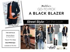 Pair a blazer with more than just your work wardrobe