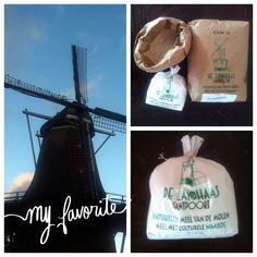 Ons brood is gemaakt met producten van Korenmolen de Zandhaas in Santpoort