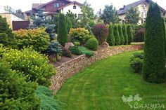 Backyard Hill Landscaping, Landscaping With Rocks, Patio, Dream Garden, Home And Garden, Landscape Design, Garden Design, Sloped Garden, Garden Oasis
