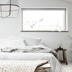 my scandinavian home: Win a cosy off-white rug from Nordal Bedroom Carpet, Home Bedroom, Modern Bedroom, Bedroom Furniture, Bedroom Decor, Nordic Bedroom, Bedroom Ideas, Bedroom Lighting, Master Bedroom