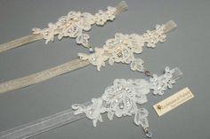 Colliers de mariage en dentelle et strass en cristal