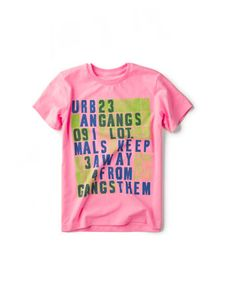 love pink on little boys!