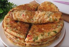 B Food, Calzone, Quiche, Main Dishes, Pancakes, Food And Drink, Menu, Breakfast, Ethnic Recipes