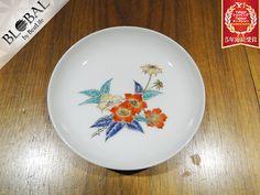 十二代柿右衛門花柄プレート小皿