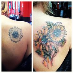 Before and After By Anji @ Studio Tattoo Henderson NV 89011 701-564-7841