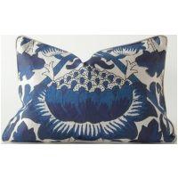 Botanical Blue 12x17 Pillow