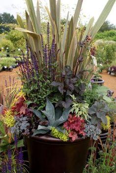 Shelleys container designs in British Columbia - Fine Gardening