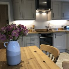 Lou has added some fantastic homely touches to her Somerton Sage kitchen. Sage Kitchen, Shaker Doors, Duck Egg Blue, Shaker Style, Future House, Kitchen Ideas, Magnets, Kitchens, House Ideas