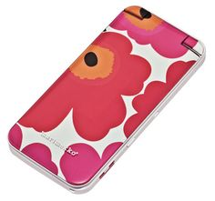 Marimekko Unikko Cell Phone Minna Parikka, Marimekko, Helsinki, Finland, Flower Power, Great Gifts, Amazing Gifts