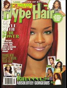 At AllMagazinePrices. you will get the lowest price on a Hype Hair magazine subscription. Black Hair Magazine, Hype Hair, Beauty Magazine, Digital Magazine, African American Women, Absolutely Gorgeous, Rihanna, Hair Beauty, Brand New