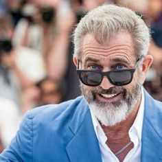 Mel Gibson shares a big smile at the 'Blood Father' photocall at Cannes