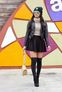 Maytedoll: Effortless Glamour (Over the knee boots)