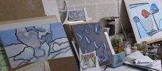 Atelier : Paul Overhaus | schilderijen, pastels, tekeningen, gouaches, houtsneden en monumentaal werk