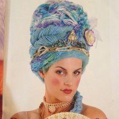 Awesome yarn wig