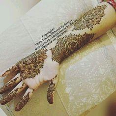 Pretty Henna Designs, Finger Henna Designs, Henna Designs Easy, Best Mehndi Designs, Mehandi Henna, Mehndi Tattoo, Henna Tattoo Designs, Mehendi, Henna Art