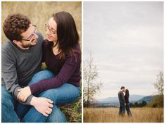 Powell Butte engagement photos by Katy Weaver