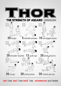Les 100 exercices de musculation des super-héros