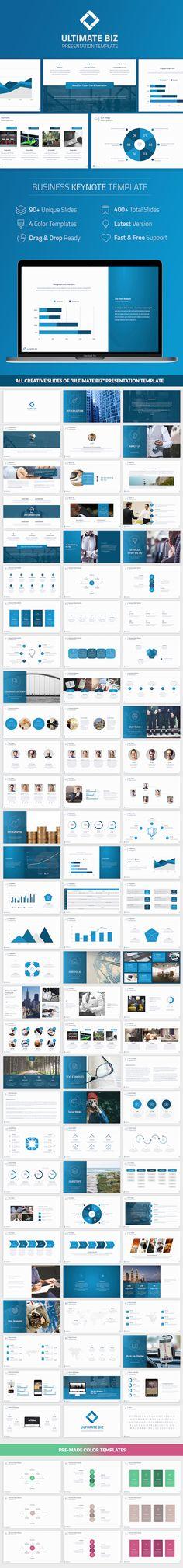 Ultimate Biz Keynote Template - Business Keynote Templates