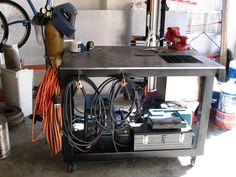 DIY Welding Table and Cart Ideas, Part 2