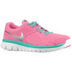 Nike Flex Run - Women's - Digital Pink/Atomic Teal/White/Metallic Dark Grey