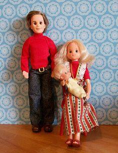I loved the Sunshine Family Dolls