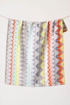 Geometric dish towel