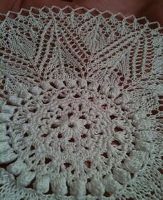 A center part is crochet