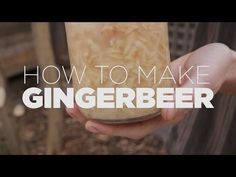 How to make Ginger Beer - probiotic or alcoholic, you decide! - YouTube