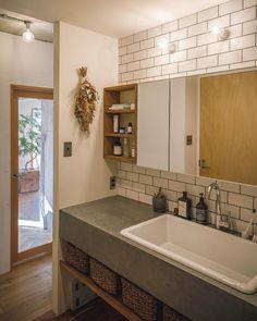 Muji Style, Washroom, Powder Room, Horn, Building A House, Bathtub, Sink, House Design, Home Decor