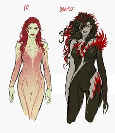 Poison Ivy Appreciation 2018 - Page 163 Harley Quinn Comic, Joker And Harley, Character Concept, Character Art, Poison Ivy Character, Comic Books Art, Comic Art, Dc Poison Ivy, Poison Ivy Dc Comics