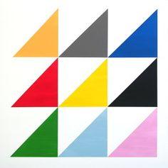 Jessica Snow, 'Nine Triangles,' 2013, Galleri Urbane