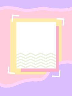 พอร์ต Pastel Wallpaper, Wallpaper Backgrounds, Iphone Wallpaper, Aesthetic Backgrounds, Aesthetic Wallpapers, Graphic Design Posters, Graphic Design Inspiration, Overlays Tumblr, Polaroid Frame
