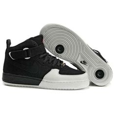 Nike Air Force 1 X Air Jordan 12 (Black White Varsity Red) 681e67572