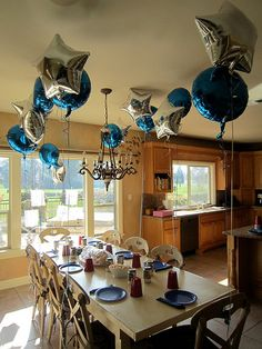 police birthday party ideas | ... napkins, red cups, and blue and silver balloons (the party favors