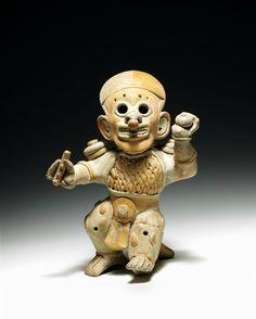 Scultura, Cultura Jama-Coaque 400 a.C. – 400 d.C. Venezia, Collezione Ligabue.