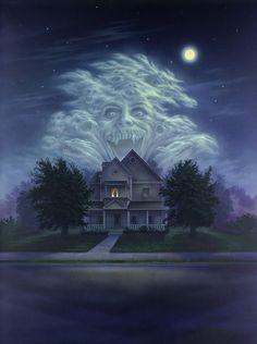 Fright Night [Hi-Res Textless Poster] by Phet Van Burton