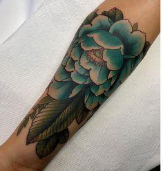 Forearm peony tattoo Forearm Flower Tattoo, Peonies Tattoo, Nature Tattoos, Peony, Flowers, Peony Flower, Florals, Peonies, Flower