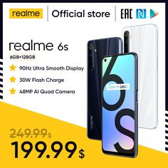 realme 6s NFC Global smartphone 90Hz 6.5'' Display 6GB 128GB mobile phone 48MP 4300mAh 30W changer Telephone Android Phones realme 6 pro,realme 6 mobile,realme 6 pro phone,realme 6 phone,realme 6 cover,realme 6 case,realme 6 back cover,realme 6 pro price,realme 6 white,realme 6 pro unboxing,