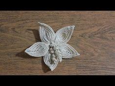 Watch The Video Splendid Crochet a Puff Flower Ideas. Wonderful Crochet a Puff Flower Ideas. Crochet Doily Rug, Crochet Puff Flower, Crochet Flower Tutorial, Crochet Leaves, Crochet Motifs, Crochet Flower Patterns, Freeform Crochet, Irish Crochet, Crochet Flowers