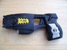 The exact kind of taser i got tased with once. Hurts like nothing else, but was an interesting experience.