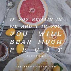 #SheReadsTruth #SRTFruit Day 12