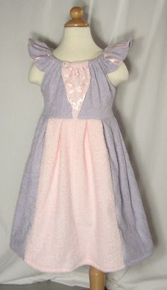 Etsy -Rapunzel Inspired Tangled Princess Beach Cover Up - this woman makes the cutest cover ups I've ever seen!