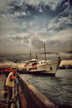 Have you ever taken a ferry ride in Istanbul?  If not then put it on your list of things to do.