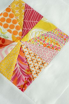 3x6 Mini Bee Block by jenib320, via Flickr