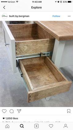 5 Creative Tricks: Wood Working For Beginners Shops wood working for beginners s - wood workings diy - Holz Ideen Secret Storage, Hidden Storage, Extra Storage, Gun Storage, Craft Storage, Storage Drawers, Diy Drawers, Storage Hacks, Woodworking Bench