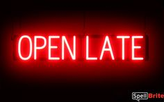 New-OPEN-LATE-1-neon-led-custom-signage-changable-letters