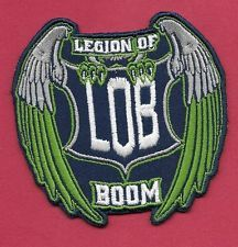 """New Seattle Seahawks 'Wings' Legion of Boom 3""""  Inch Iron on Patch Free Shipping"""